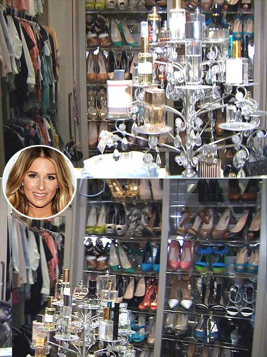 48 MindBlowing Celebrity Closet Tours Celebrity closets