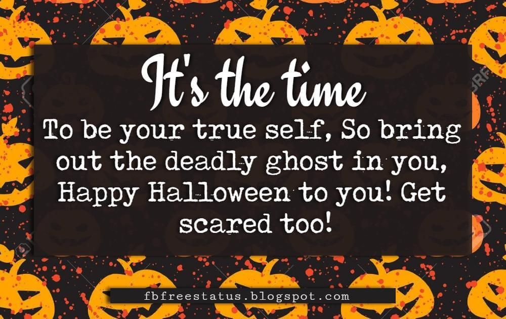 Halloween greetings card messages wishes with pictures halloween halloween greetings card messages wishes its the time to be your true self so m4hsunfo