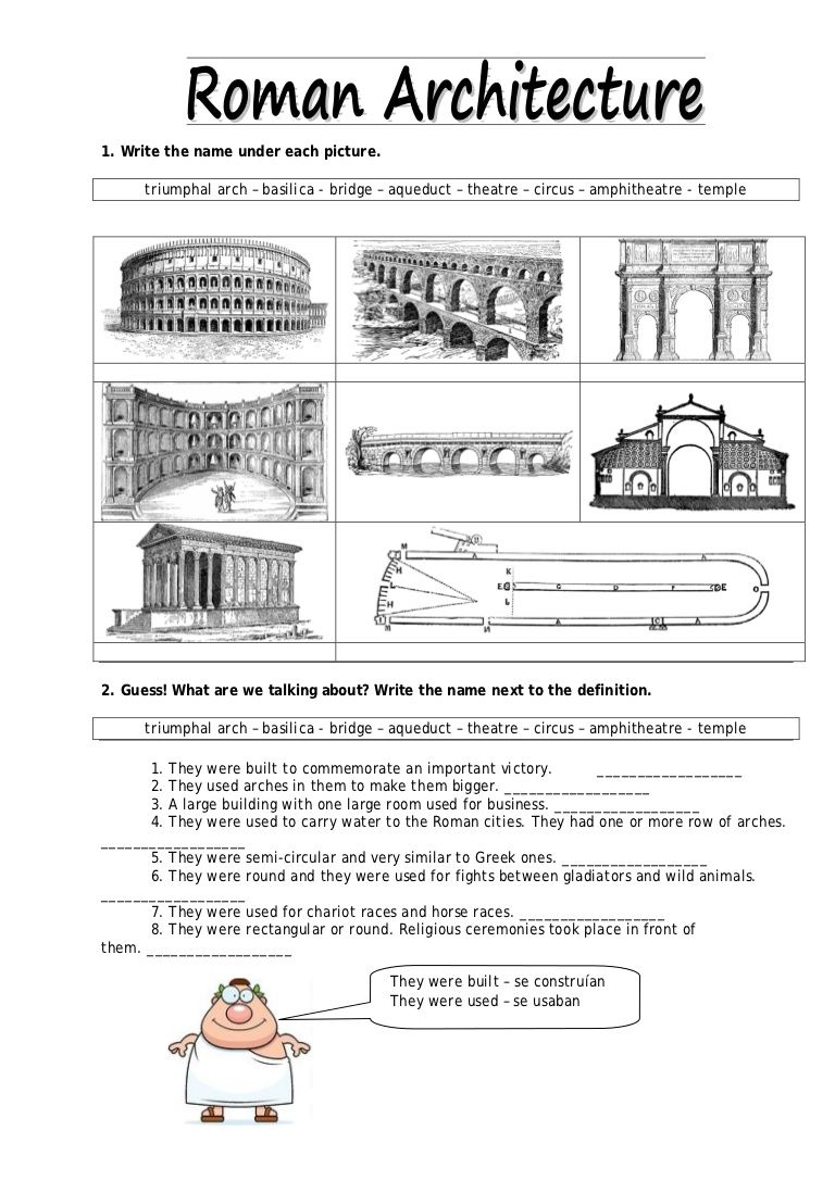Worksheets Ancient Rome Worksheets ancient rome architecture world history ideas architecture