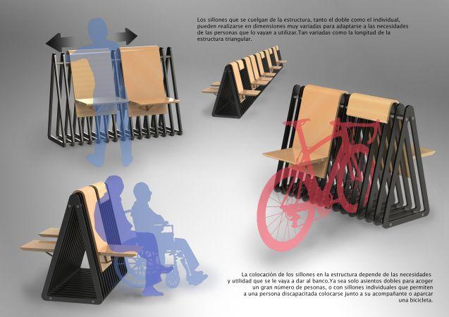 El banco/estacionamiento para ciclistas ¨El Pinajarro¨ - Bike T3CH ...