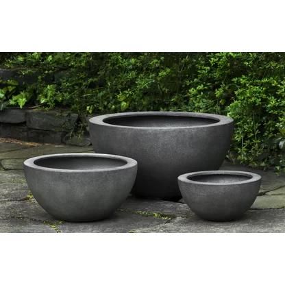 Campania International Inc Tribeca Cast Stone Pot Planter Perigold In 2020 Planter Pots Planters Hanging Plants Indoor