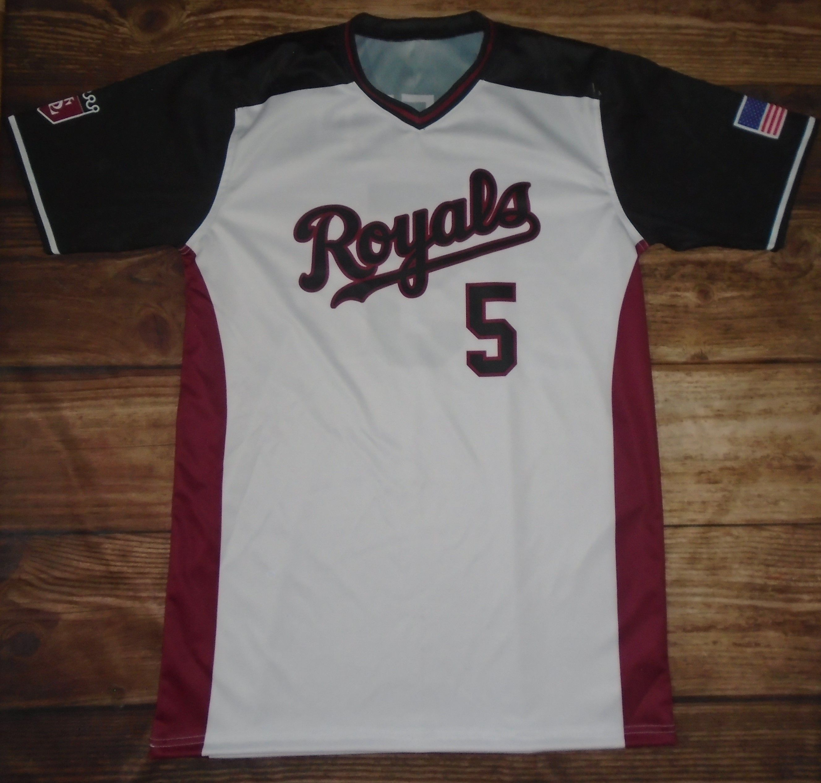 Check Out These Custom Jerseys Designed By Royals Baseball And