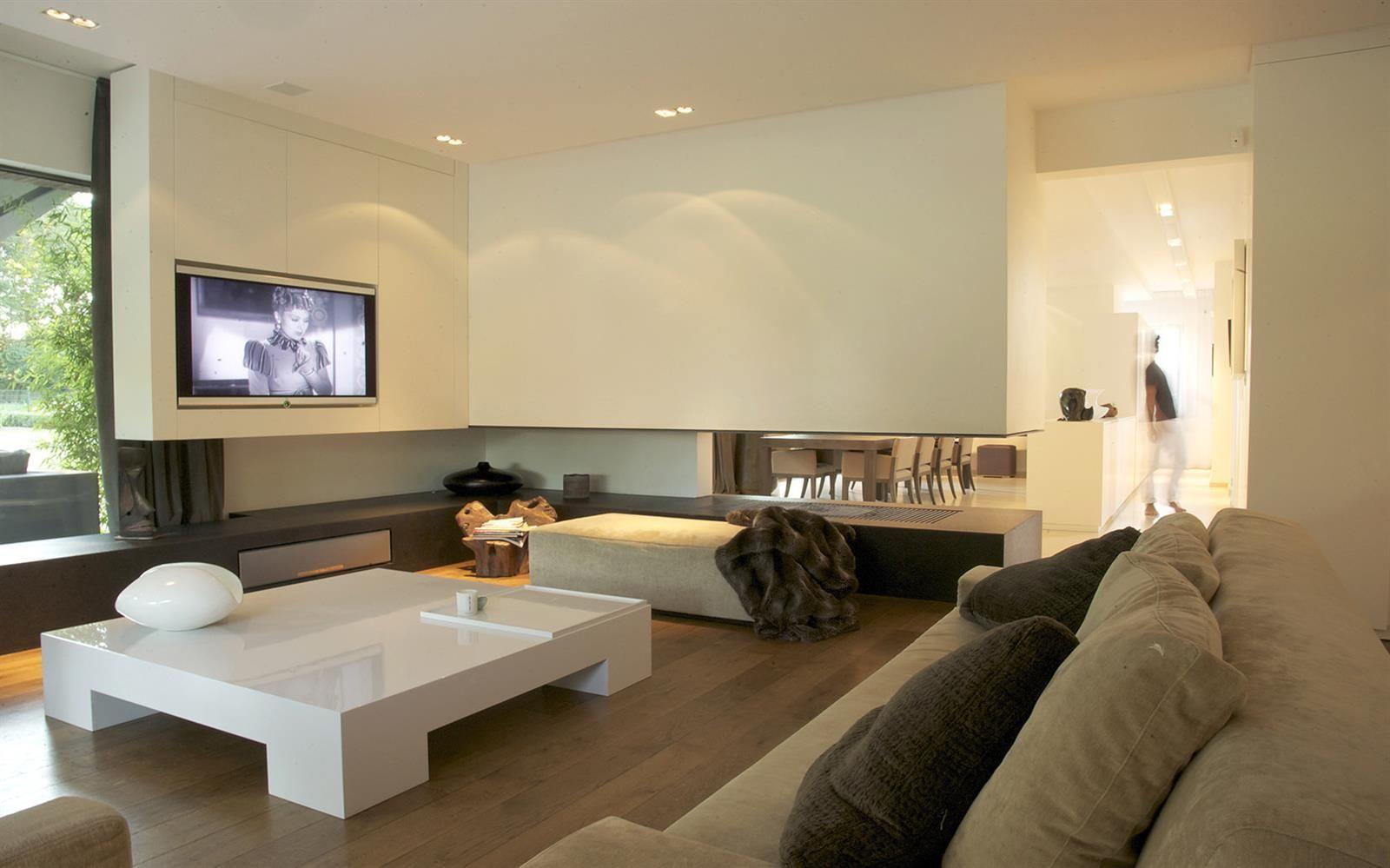 Grand Salon Contemporain Living Room Pinterest Grand Salon - Idee deco grand salon