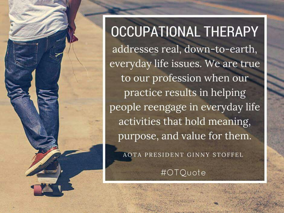 Pin by Jessica on OCCUPATIONAL THERAPY Occupational