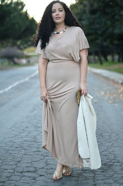 The Plus Size Woman Put Together Attractive Feminine Dressing