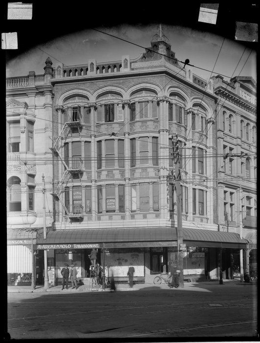 Bonnington S Building Christchurch With Images Christchurch