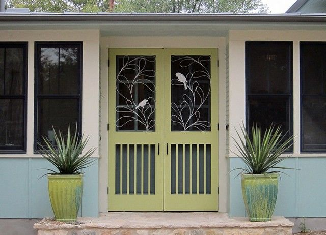 Decorative Metal Screen Door Inserts | Ideas for the House