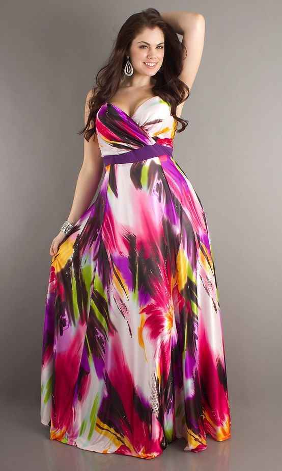 How To Look Good In Plus Size Dresses Moda Pinterest Illusions