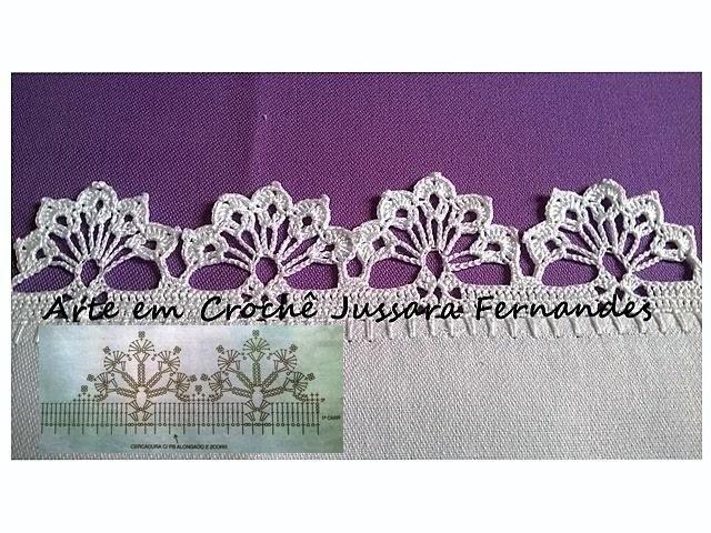 Luty Artes Crochet Barrados E Graficos Barrados De Croche