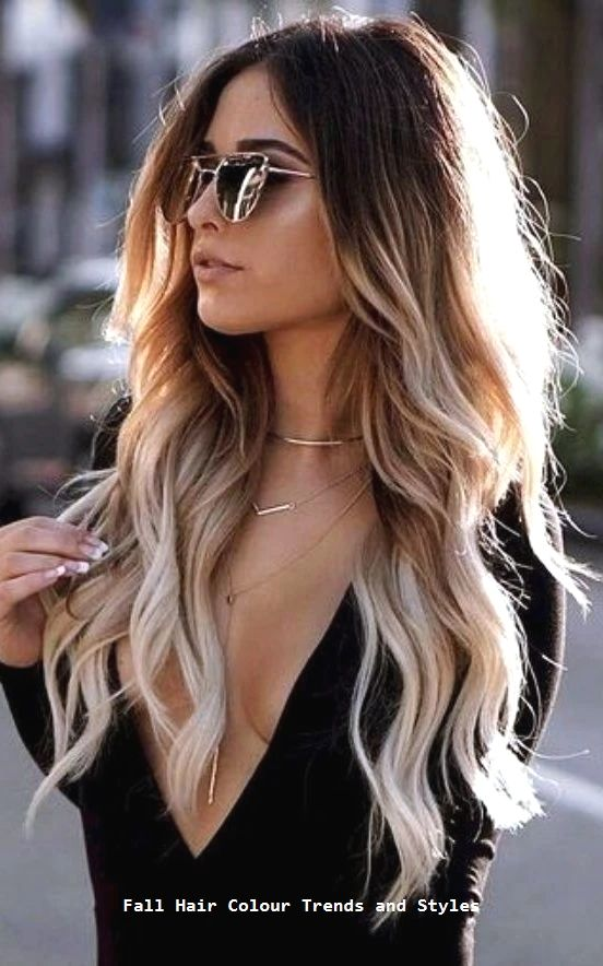Fall Hair Colour Trends And Styles Hairstyle Trendyhairs Coloración De Cabello Color De Cabello De Verano Color De Cabello