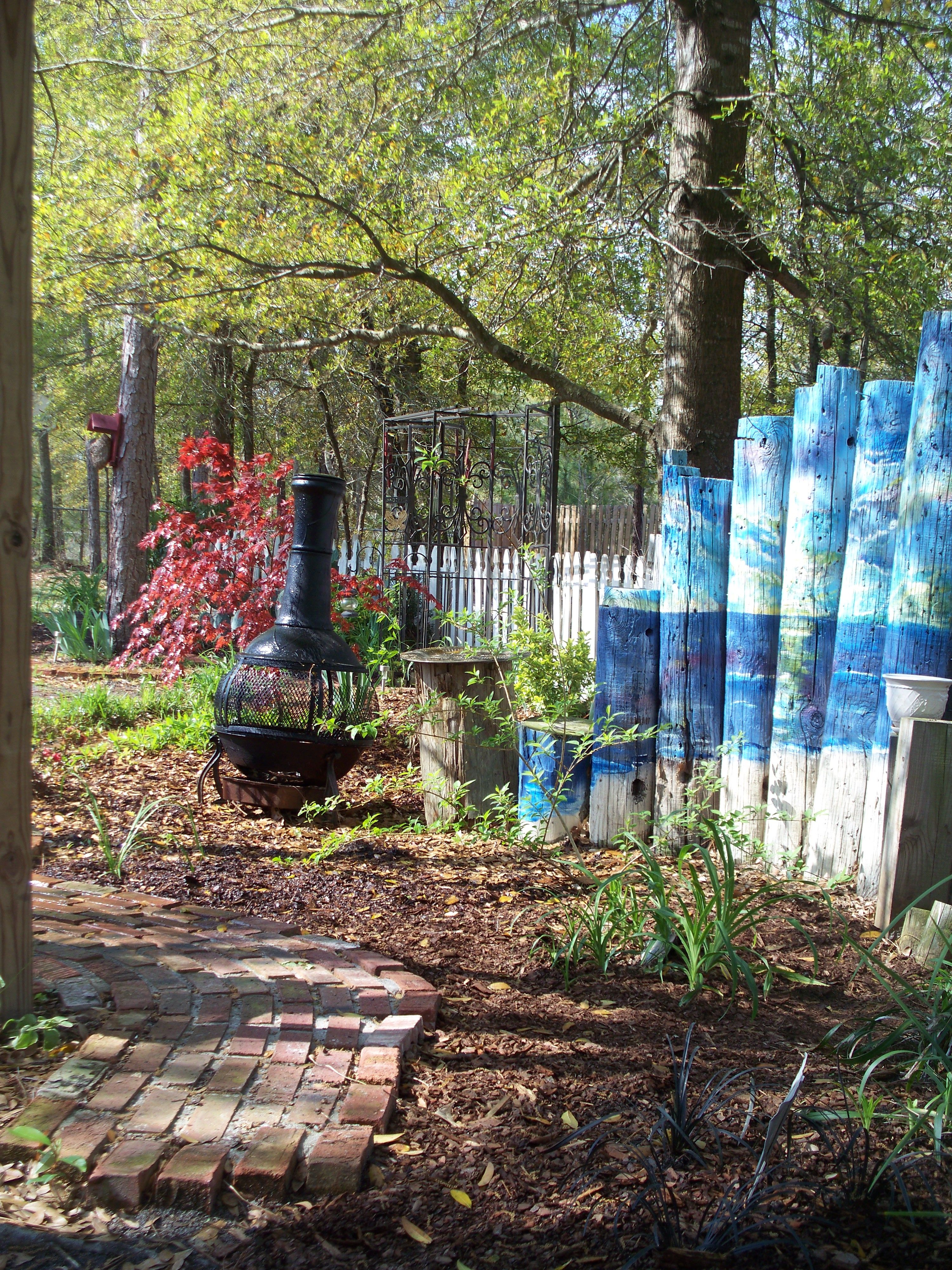 Recycled Some Old Telephone Poles I Found Places
