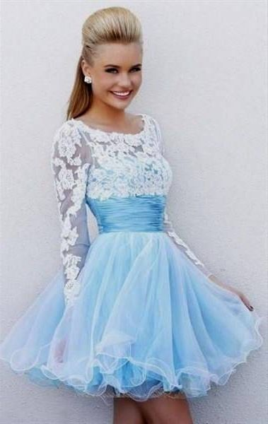 Cool Cocktail Dress For Prom Night With Sleeves 2018 Check more at ...