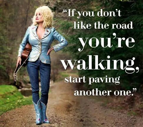 Pave a different road