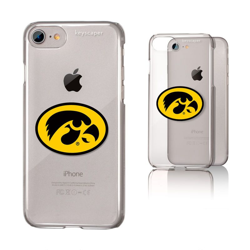 huge discount f5f22 51b7c Iowa Hawkeyes iPhone 6/6s/7/8 Clear Case | Products | Iphone, Iphone ...