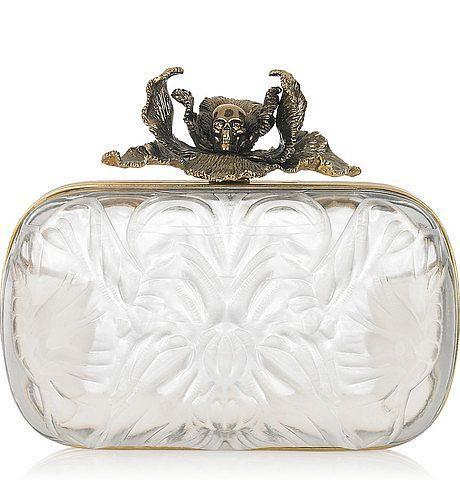 glass bag clutch