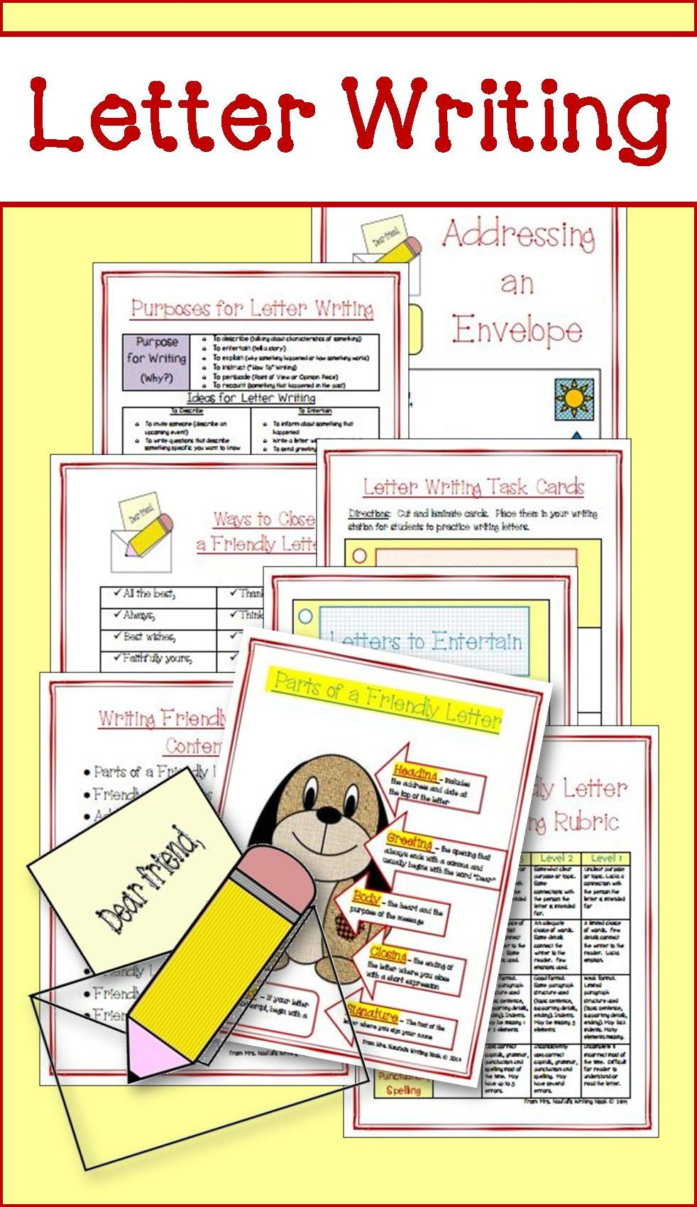 Are You Looking For A Jam Packed Resource On How To Teach Friendly Letter Writing This Reso Friendly Letter Writing Writing Graphic Organizers Friendly Letter [ 1700 x 982 Pixel ]