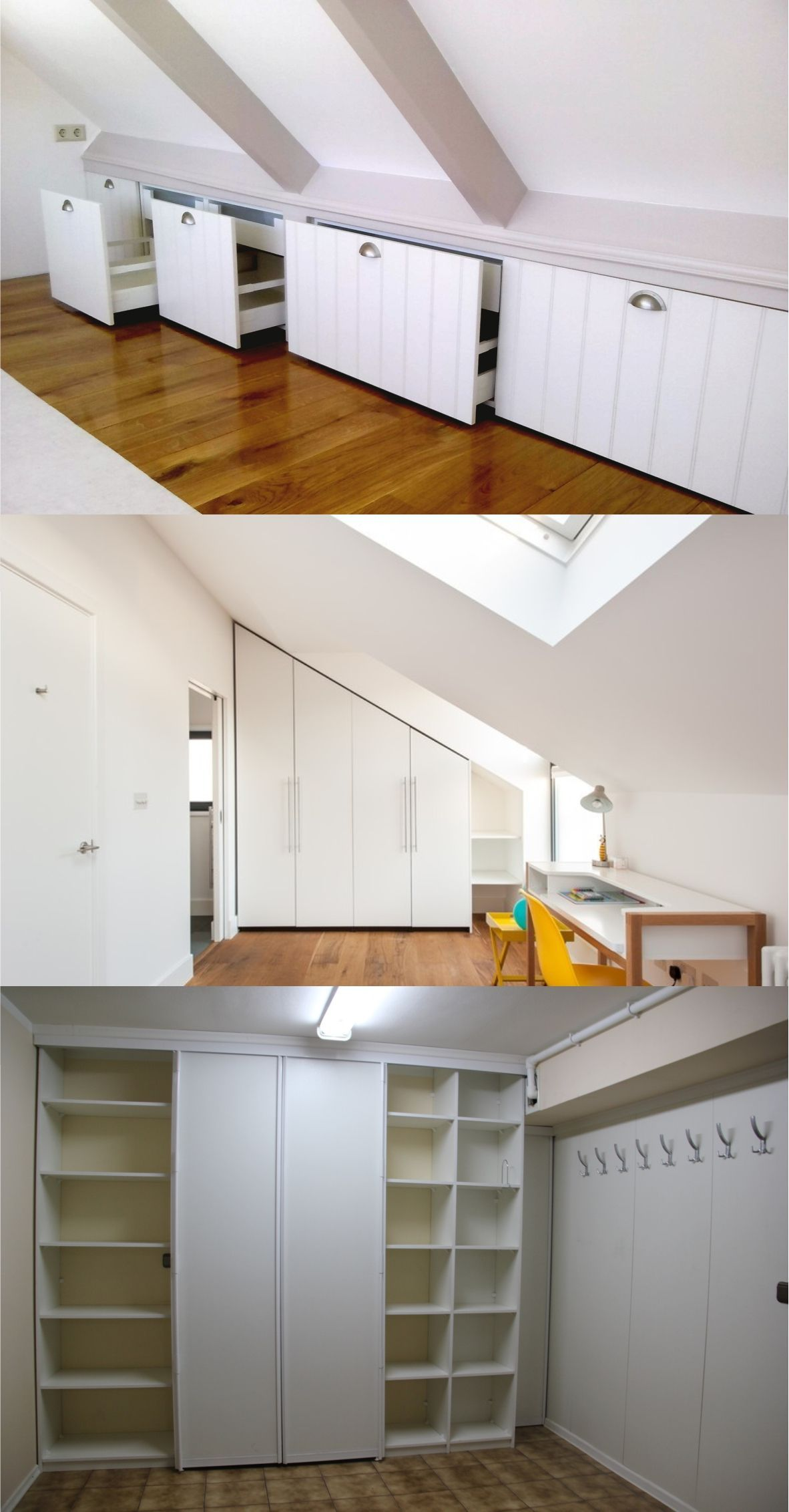 An Additional Great Concept Is To Make Use Of The Attic As A Room With A Storage Cabinet If You Have A Young A Attic Bedroom Storage Attic Rooms Attic Storage