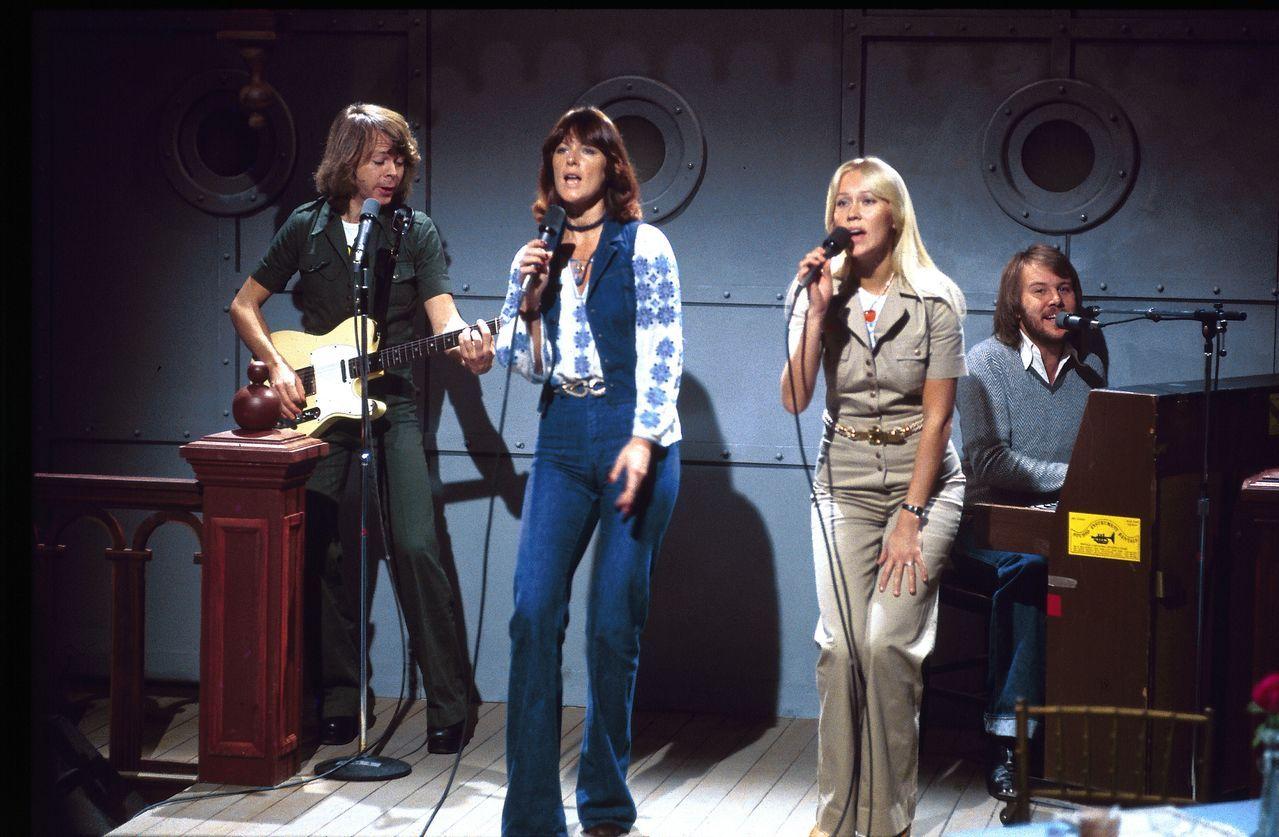 Resultado de imagen de abba in saturday night show 1975