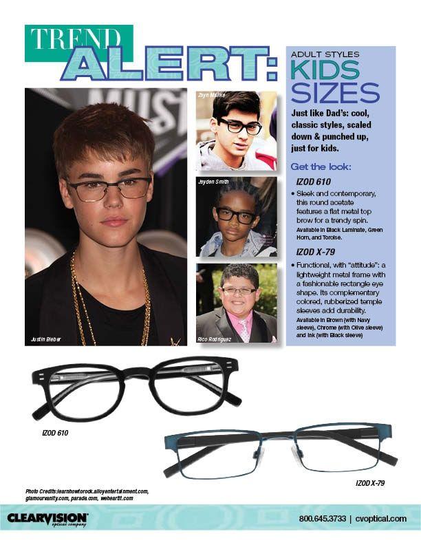 Tween boys like cool, classic frames that mimic adult designs. We ...