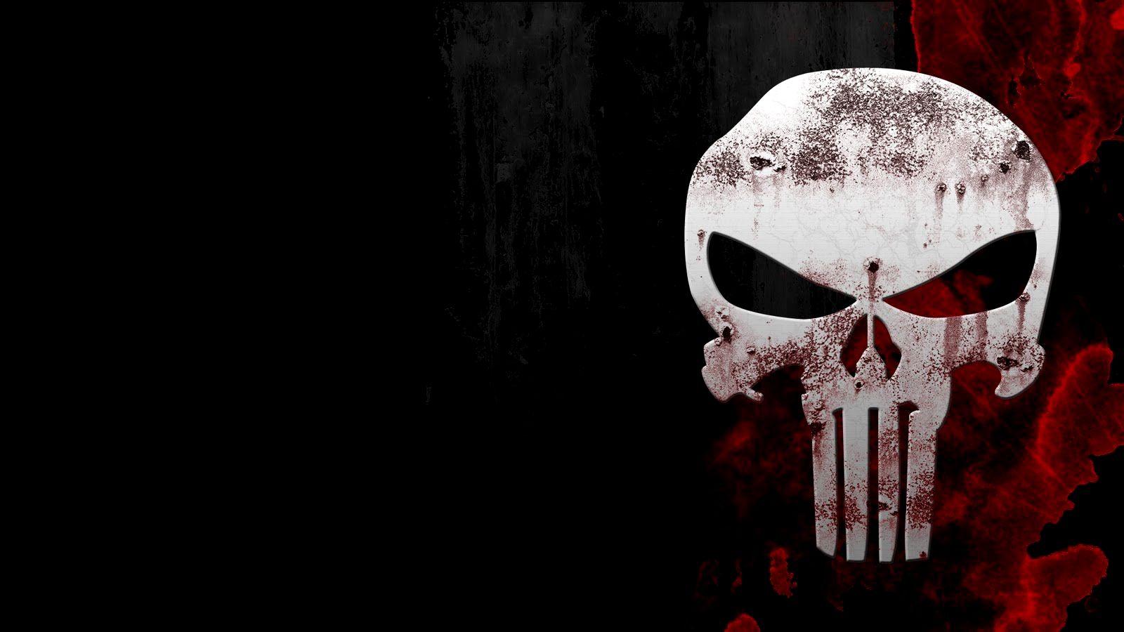 4k Wallpaper For Pc Skull Gallery Em 2020 Justiceiro Punisher Skull O Justiceiro