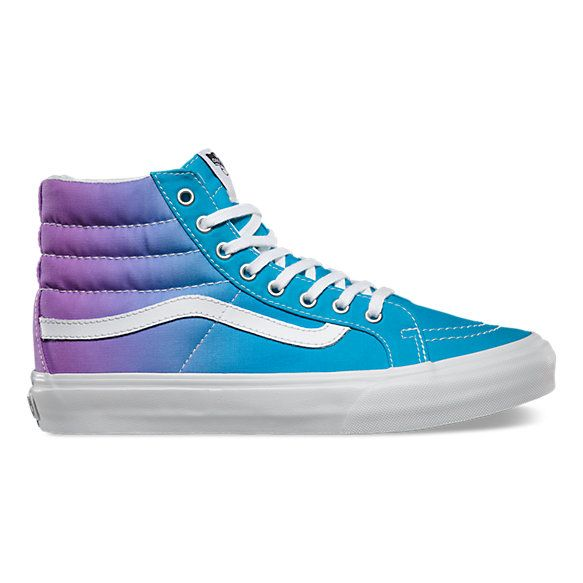 Bluepurple New Sk8 Pinterest Slim Ombre Vans Hi Shoes XrFvwrxq
