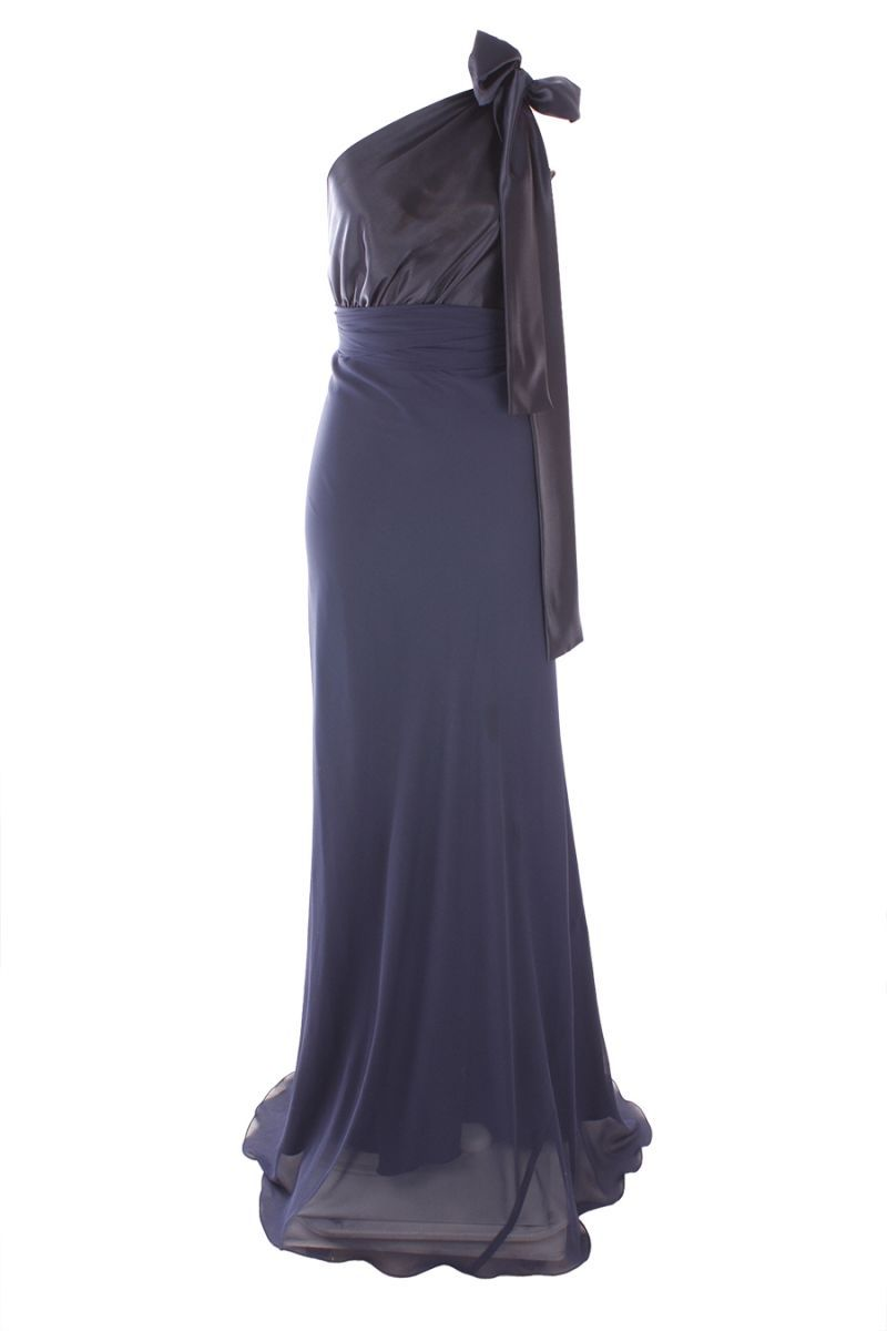 Leiela - Two-tone Caprice Dress in Blueberry - Gowns - designer ...