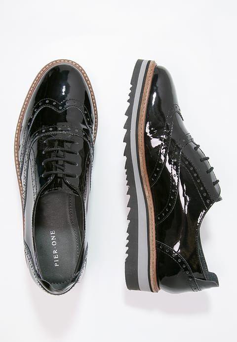 Chaussures Pier One Derbies - black noir: 70,00 € chez Zalando (au