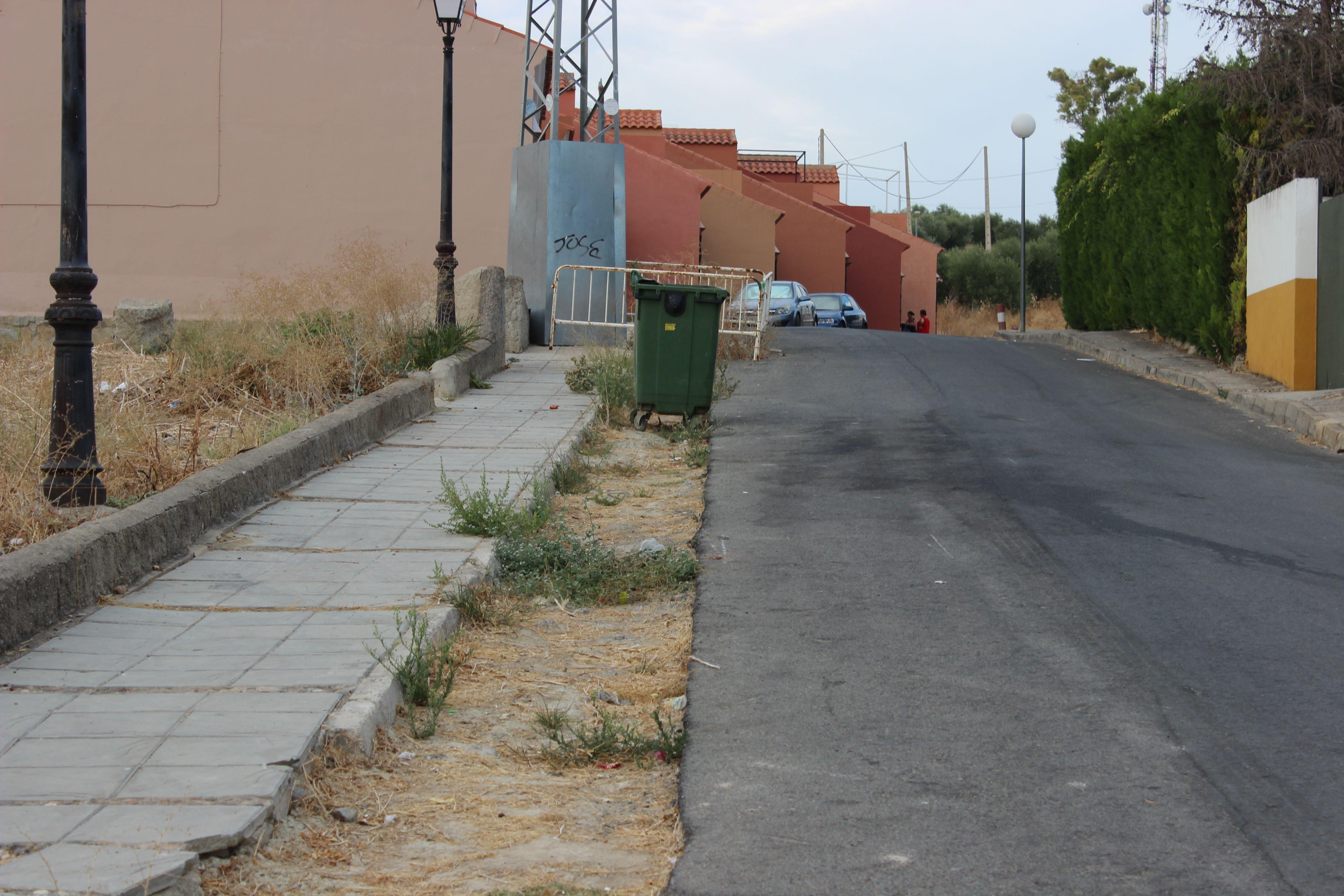 """Puerta trasera de salida C.E.I.P. """"Virgilio Fernández Pérez"""" - Salida de niños/as del colegio. 18/09/2013"""