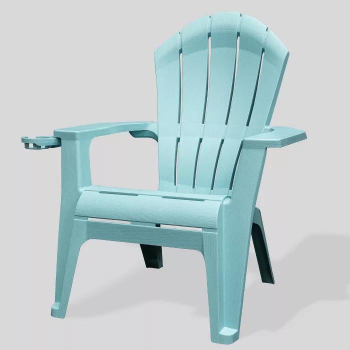 Deluxe Realcomfort Adirondack Chair Turquoise Adams