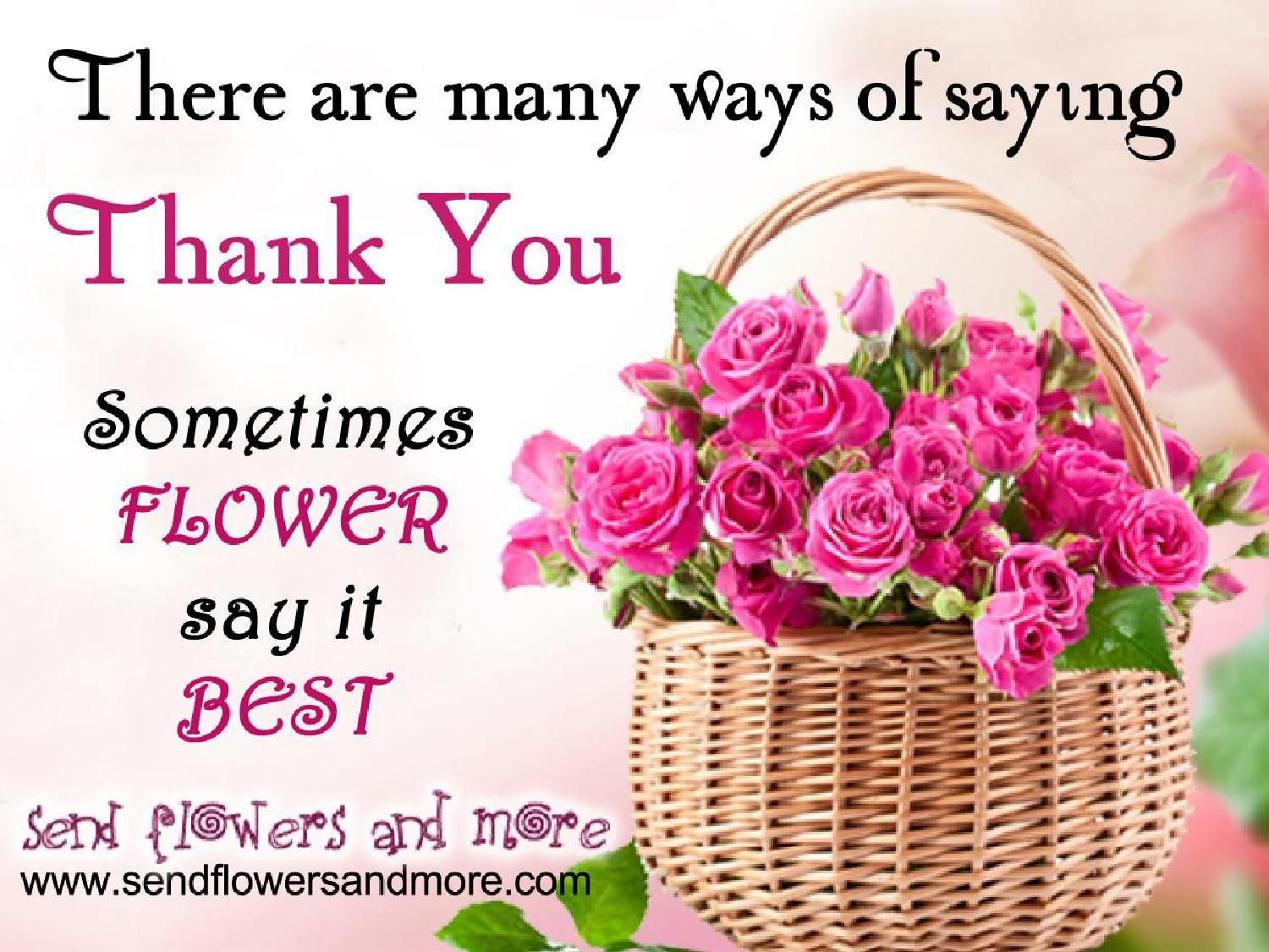 Say Thank You With Lovely Flower Bouquet | Gift Ideas | Pinterest ...