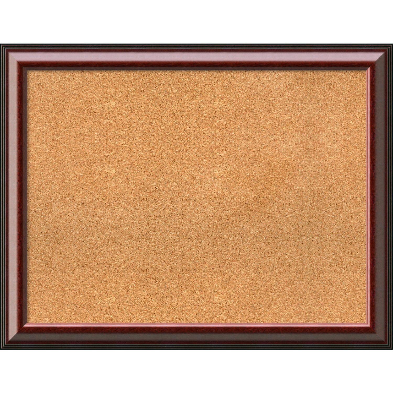 Amanti Art Framed Cork Board, Choose Your Custom Size, Cambridge ...