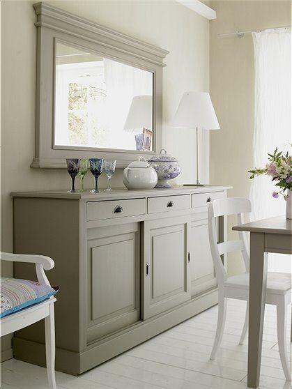kommode mit schiebet ren aus gestrichenem massivholz ma e hxtxb 91 x 50 x 194 cm hier. Black Bedroom Furniture Sets. Home Design Ideas
