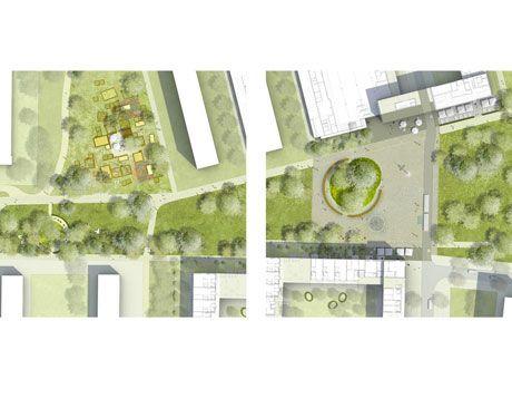 Architekt Saarbrücken stadtmitte am fluss saarbrücken architekten berlin und entwurf