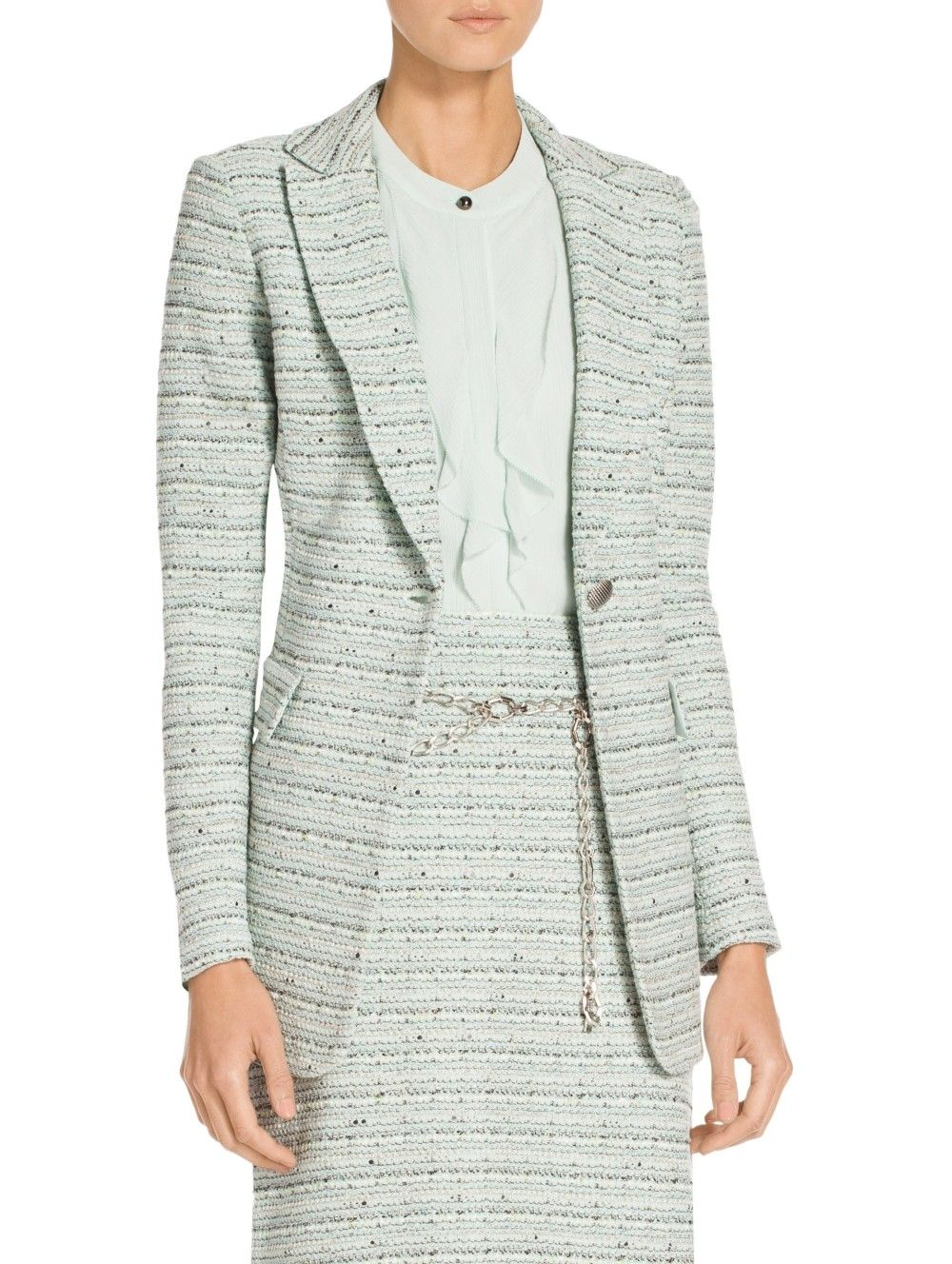 Riana Multi Tweed Jacket | Jackets, Tweed jacket, Tweed
