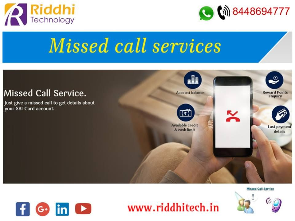 Missed Call service is a completely automated web based application