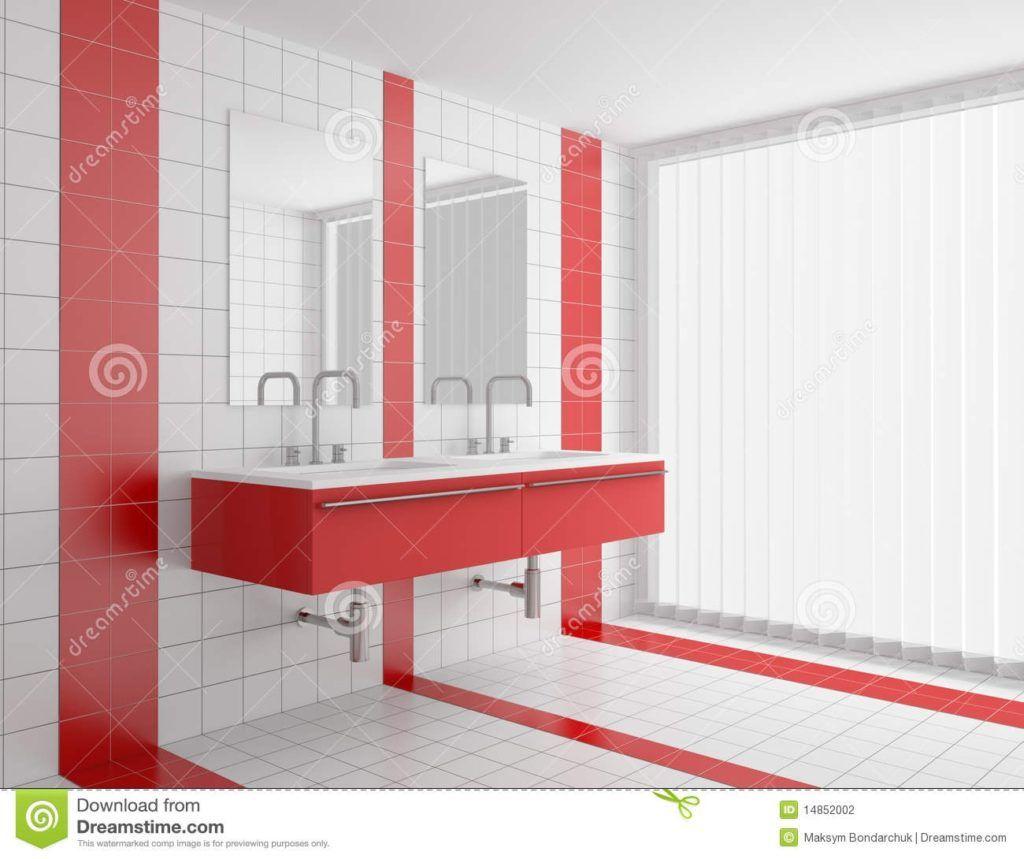 Red And White Tiles For Bathroom   puerta   Pinterest   White tiles ...
