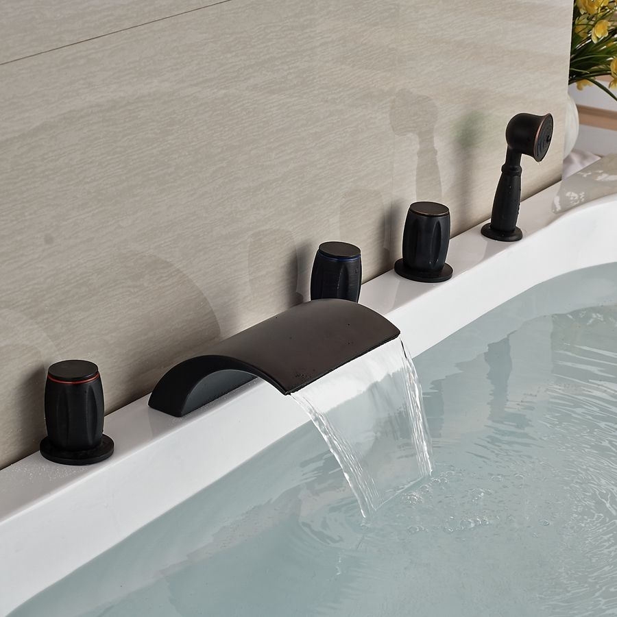 Wholesale And Retail Waterfall Oil Rubbed Bronze Waterfall Spout ...