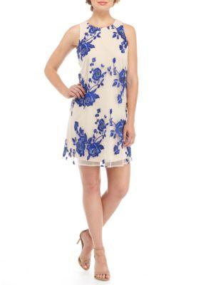 Beige by ECI Sleeveless Embroidered Dress | Products