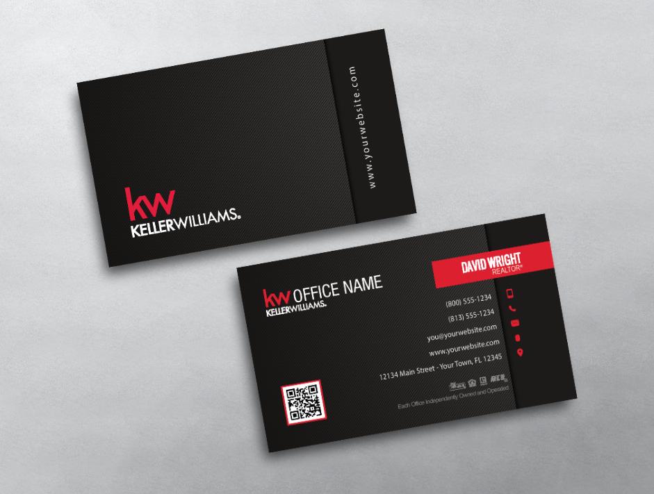 New Keller Williams Business Card Templates