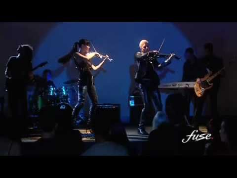 Electric Violin Duo FUSE's EPK featuring Glorious, I Love Rock N Roll and Beat It, plus interviews with Linzi Stoppard and Ben Lee