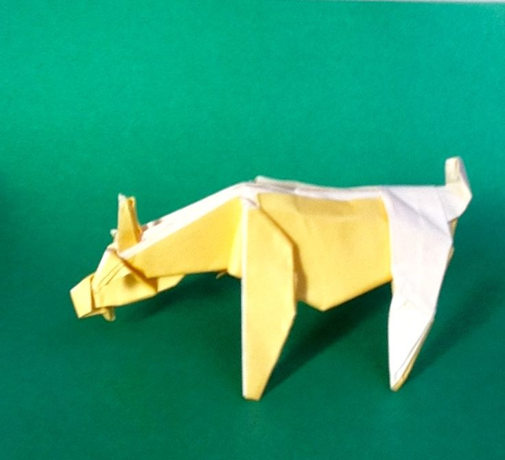 Goat Designed By Roman Diaz Folded Teru Kutsuna