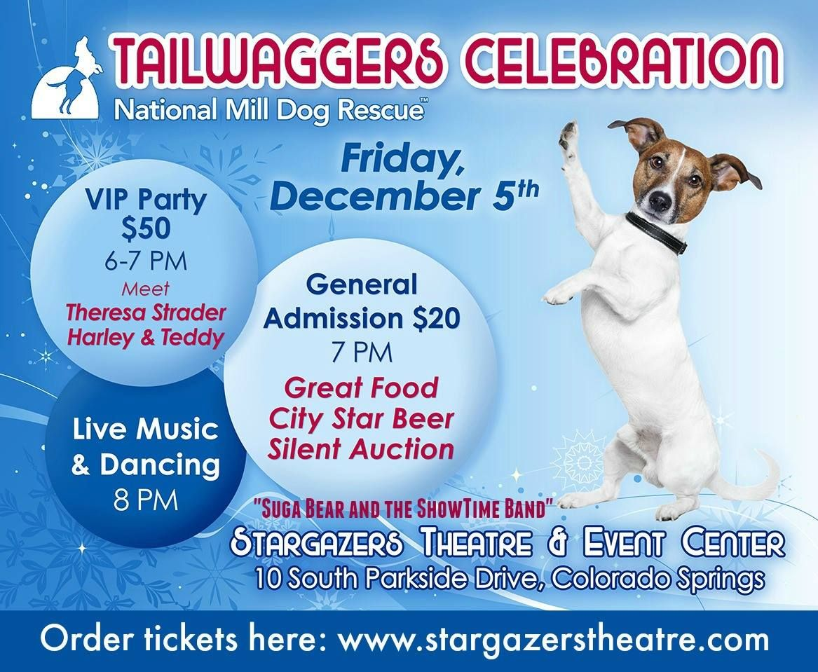 Join us for the National Mill Dog Rescue's Tailwaggers