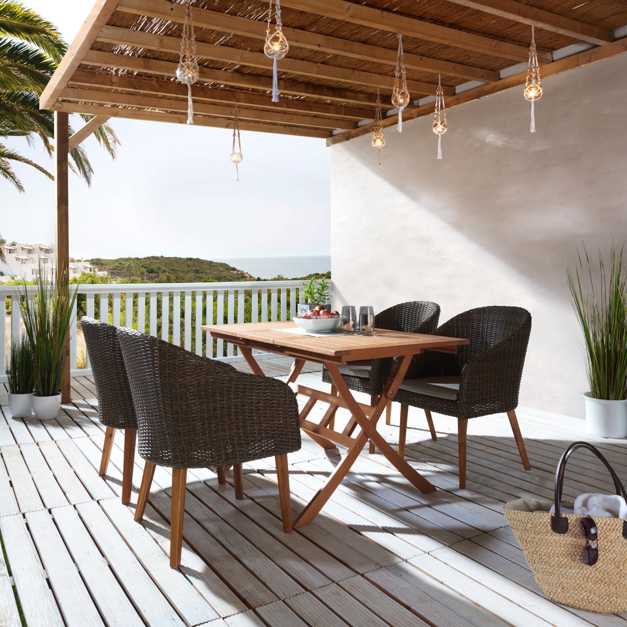 Garten Sitzgruppe aus Holz - Gemütlich und schön   Gartenparadies ...