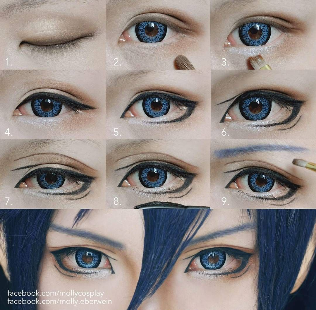 Comic Con Society Cosplay Makeup Tutorial Anime Eye Makeup Cosplay Makeup