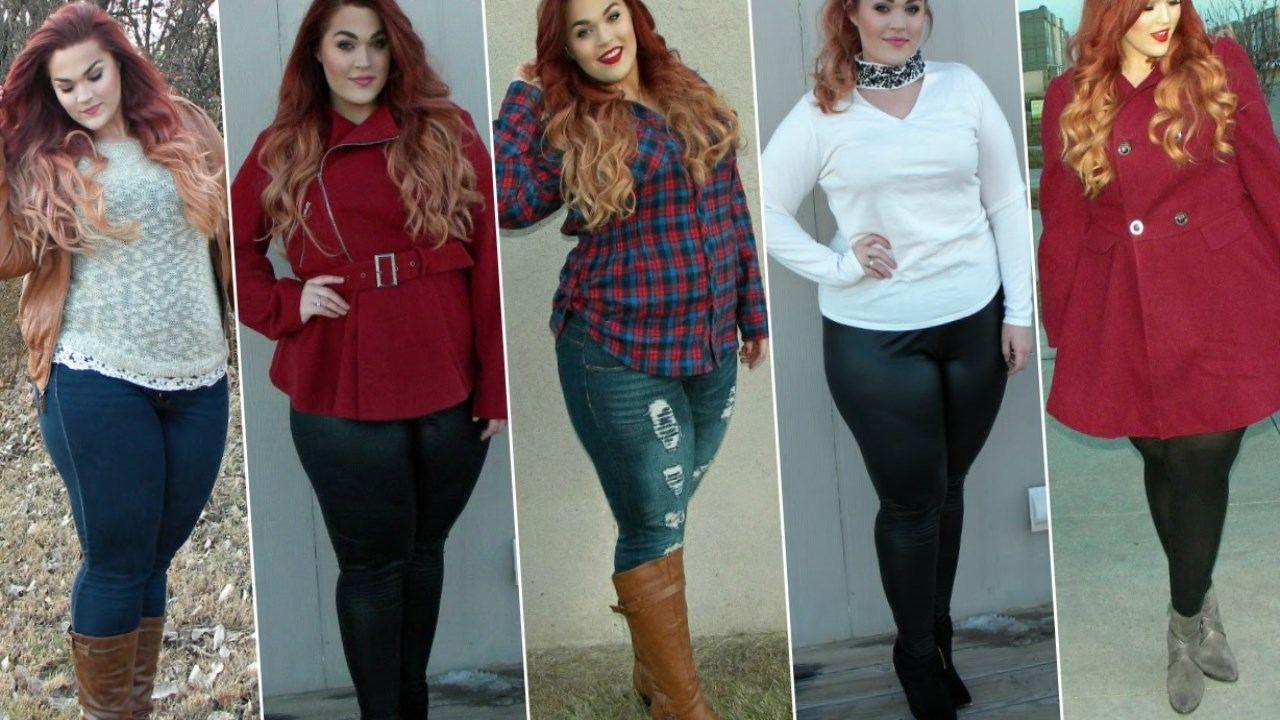 Plus Size Winter Dresses Fashion 2016 Clothes Pinterest