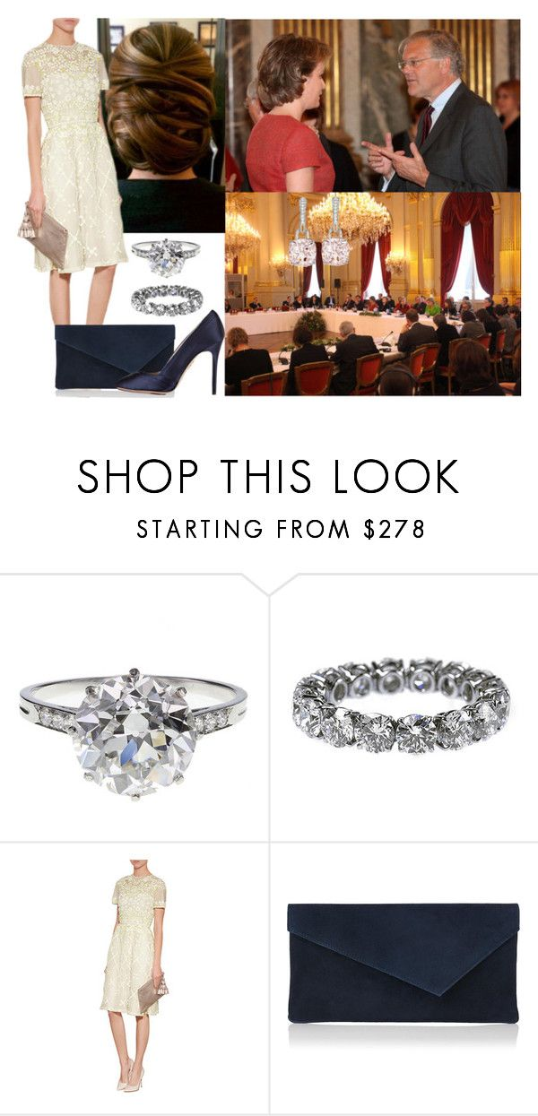 """""""Hosting Day Two of the Vulnerable Children on the Run Conference"""" by hanaofbelgium ❤ liked on Polyvore featuring Boucheron, Kiki mcdonough, L.K.Bennett and Charlotte Olympia"""