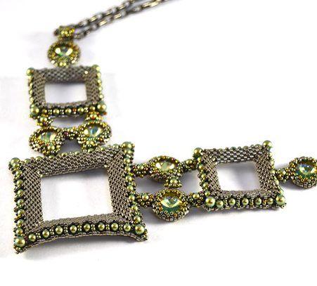 Mau Necklace Beading Kit Bead kits Beads and Patterns