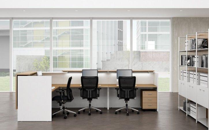 Zeta Single Person Reception Desk