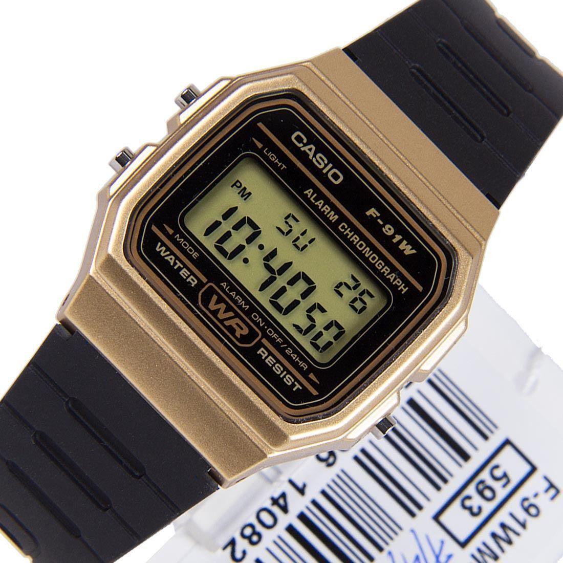 635c8630470 Casio Chronograph Male Watch F-91WM-9A F-91WM-9ADF
