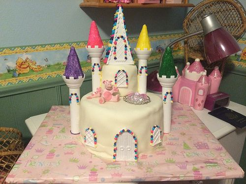 Avalon's Princess Cake for her 3rd Birthday